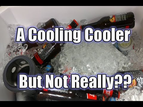 Ryobi Cooling Cooler | Watch This Before You Buy