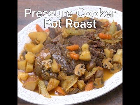 Pressure Cooker Pot Roast - Intensely cooked, super tender Pot Roast