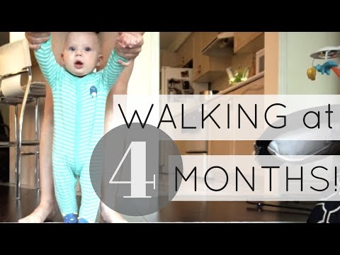 YOUNG MOM | How To Teach Your Baby To Walk