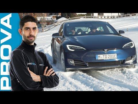 Tesla Model S   1.000 km per andare a