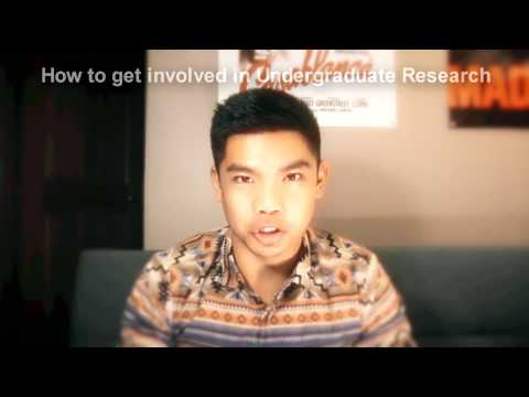 How to get into Undergraduate Research