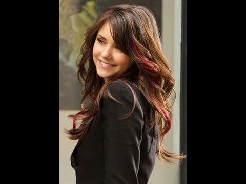 DIY Red Highlights/Streaks like Elena from The Vampire Diaries