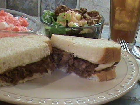 Another Quick Meal For Those Who Work Beef Shaved Steak Sandwich