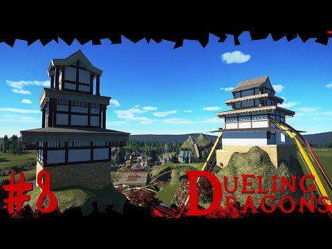 Dueling Dragons | Japanese Planet Coaster Timelapse! #8 [Temple]