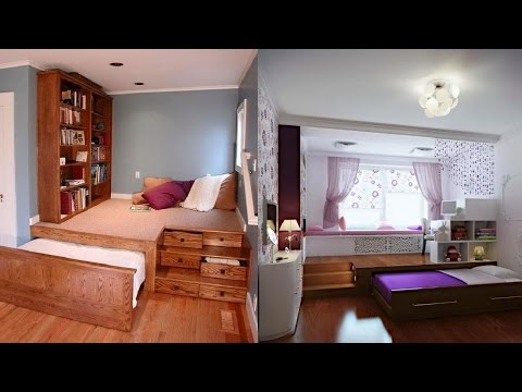 Space Saving Bedroom Ideas █▬█ █ ▀█▀
