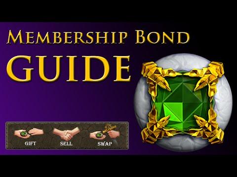 Old School Runescape - Membership Bond Guide