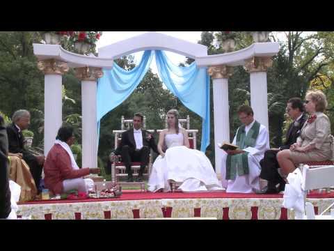 Rhonda & Gautam Indian Hindu Christian Wedding HD John Paul Studios Wedding Videography