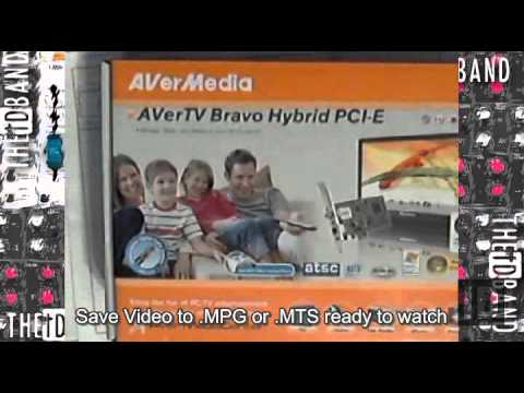 PC-tv over-the-air HDtv to view and record