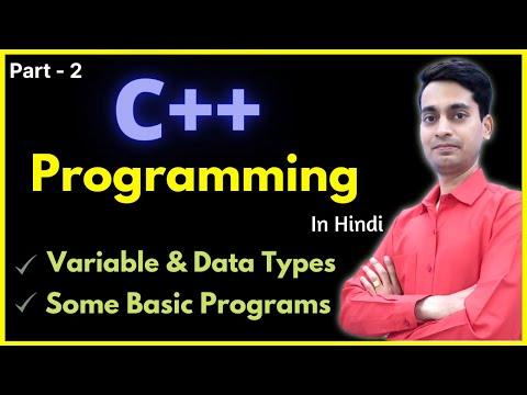 C++ Programming Tutorials (C++ basic programs) [Hindi Part-2]