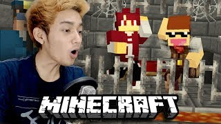 ISAN & JONO DIPENJARA !! | Puzzle Map | Minecraft Indonesia