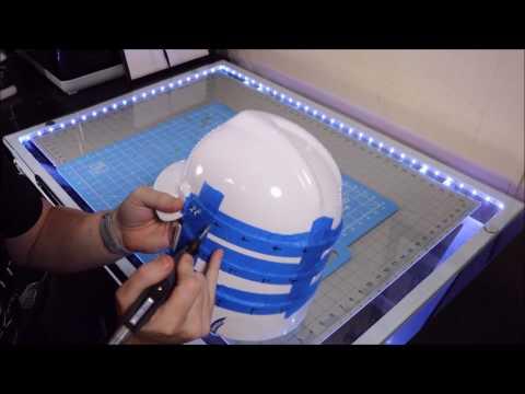 Samurai Armor Project Part 1 - MAKING A KABUTO  HELMET using Polly Plastics
