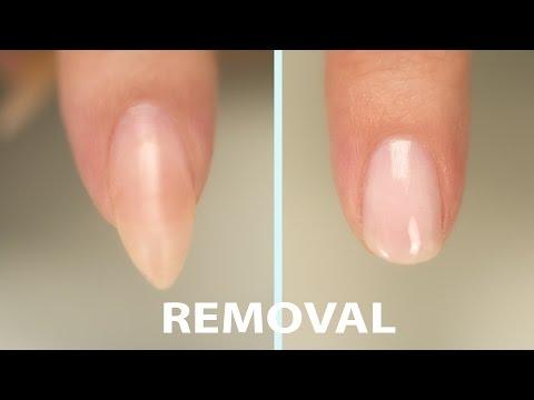 Acrylic Nail Removal