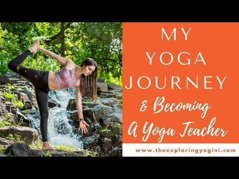 My Yoga Journey & Becoming a Yoga Teacher
