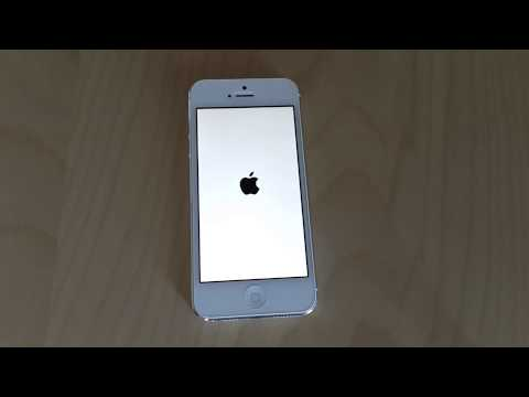 iOS 7 Beta 5 New Power On Screen