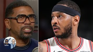 Jalen Rose: Carmelo Anthony's Player of the Week win was ceremonial | Jalen & Jacoby