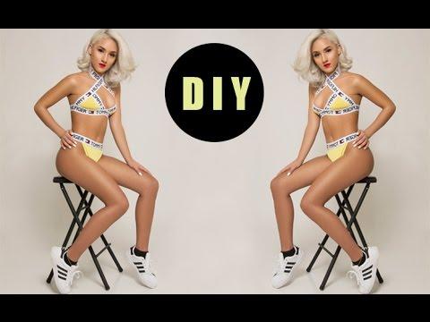 DIY Designer Bikini Bottoms