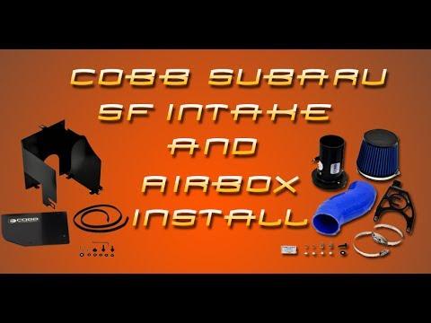 COBB Subaru SF Intake/Airbox Install Video