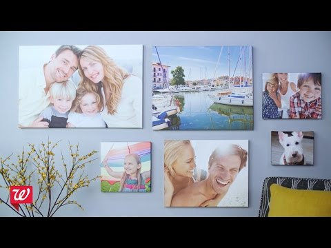 Create Custom Canvas Prints at Walgreens