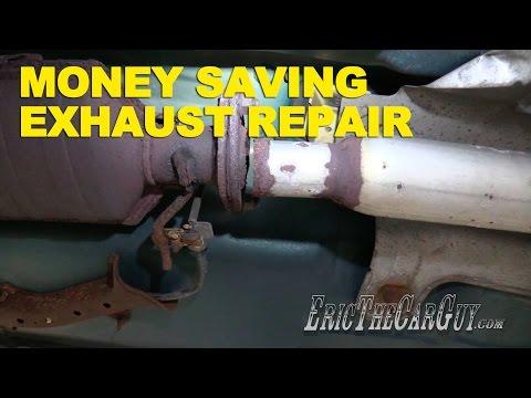 Money Saving Exhaust Repair -EricTheCarGuy