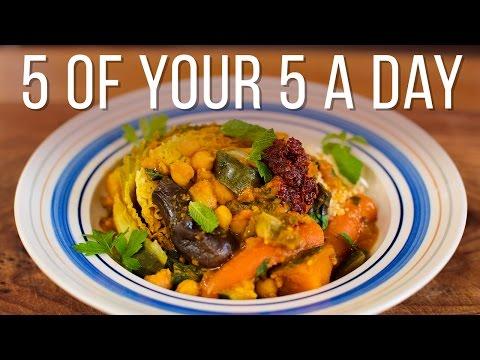 Seven-Veg Tagine | 5 a Day Dish
