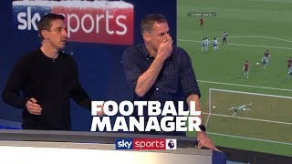 Team of ONLY Gary Nevilles v Team of ONLY Jamie Carraghers on Football Manager 😂