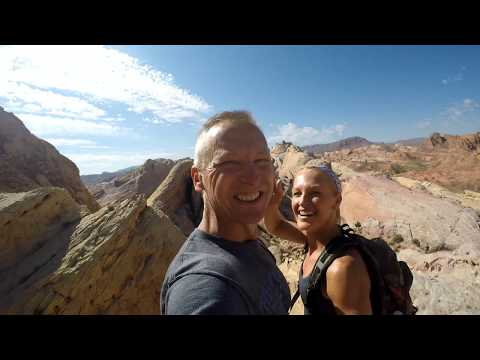 Hiking at the Valley of Fire