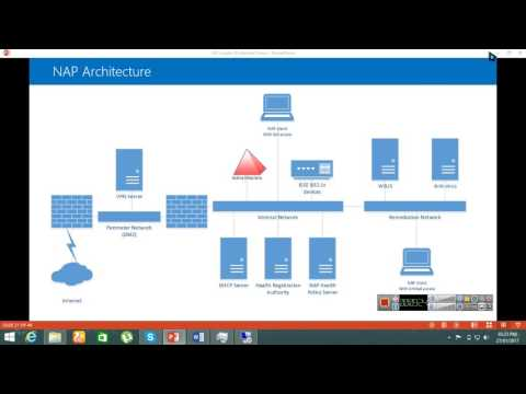 How to configure Network access protection in windows server 2012 R2