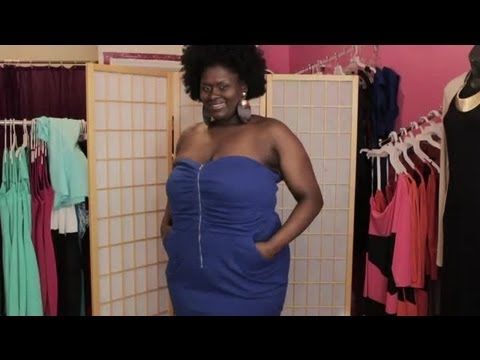 How to Support Your Breasts in a Strapless Dress : Ideas for Fashion & Style