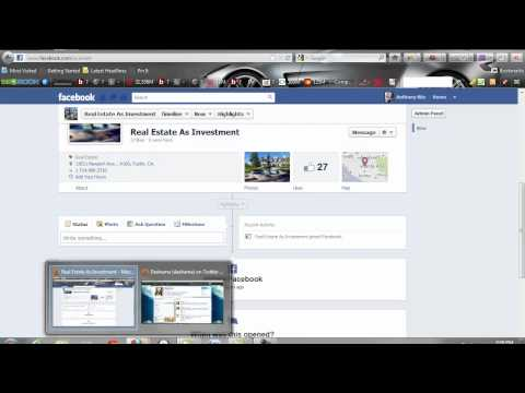Facebook Pages Mobile Marketing