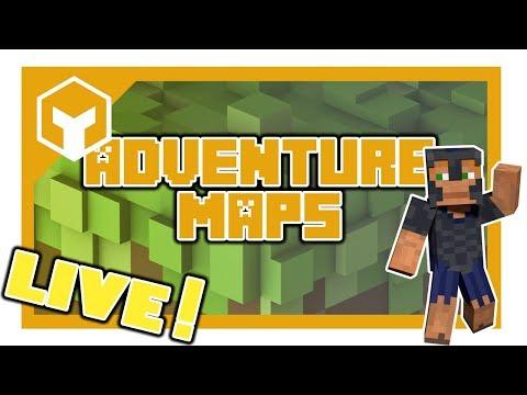 🔴 LIVE: Minecraft Adventure Maps with CryinMo