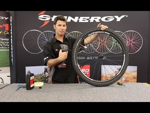 MTB Tubeless Tire Installation Procedure