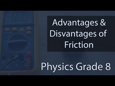 Advantages & Disadvantages Of Friction | Methods Of Increasing & Reducing Friction | Lecture 4