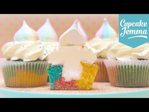How to Make the Cutest Unicorn Cupcakes | Cupcake Jemma