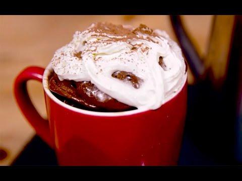 Cappuccino microwave mug cake recipe