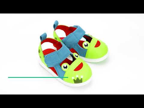 ikiki Sandals - Toddler sandals with on/off squeaker!