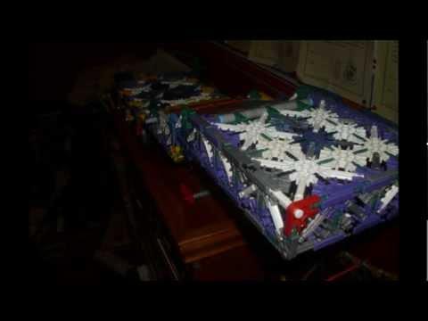 009 - K'NEX Articulated Flatbed Trailer