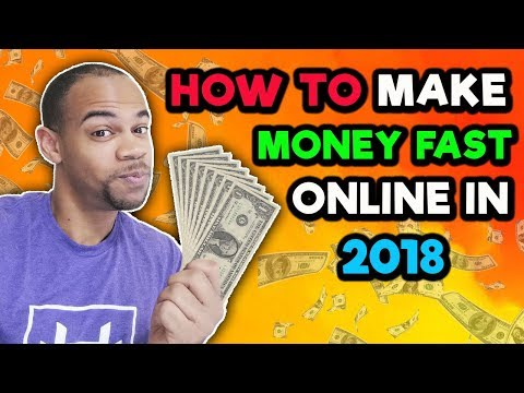 How To Make Money FAST Online in 2018 With Kindle Publishing