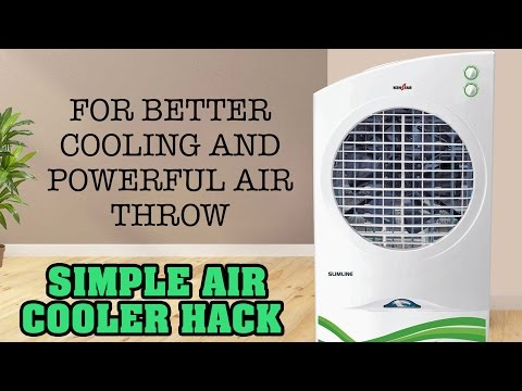 Air Cooler Tip for More Cooling and Powerful Air Throw