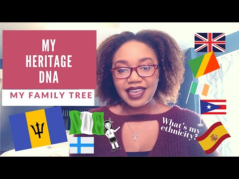MyHeritageDNA Kit   My Family Tree (part 1)   What Am I Mixed With?