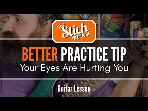 Beginner Guitar Tip#1 Eyes Out!