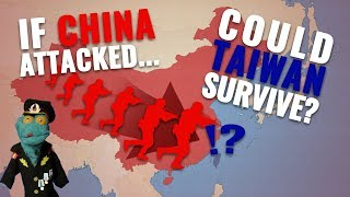 Can China invade Taiwan within a year? Part 1/2: Balance of air/naval power (with US being neutral)