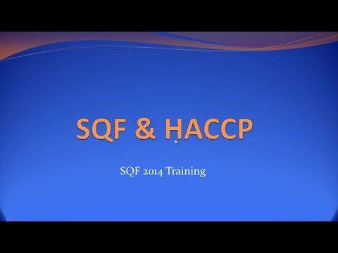 SQF and HACCP - Training Video