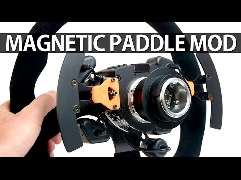 DIY MAGNETIC SHIFTER FOR FANATEC UXH