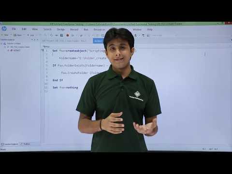 HP UFT/QTP - Create Folder