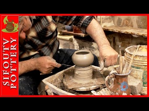 Pottery Jewelry box video: How to make a pottery jewelry box/ pottery making on potter's wheel. #103