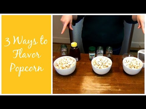 3 Ways to Flavor Homemade Popcorn