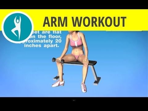 Inner forearm exercises at home for men and women: forearm workout  with weights for huge arms