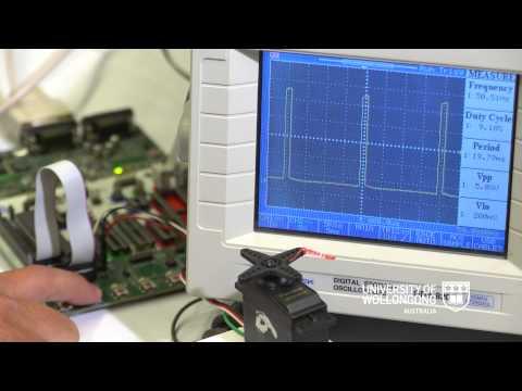 Motor control using Atmel AVR microcontroller