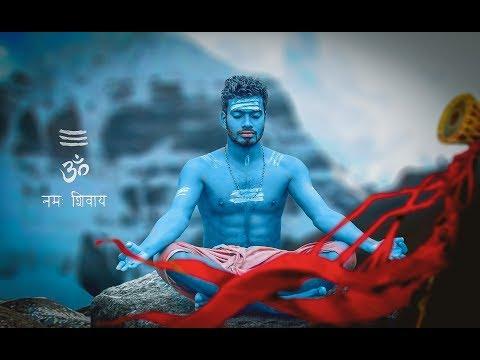 Photoshop manipulation - Lord shiva photo editing |  With psd file