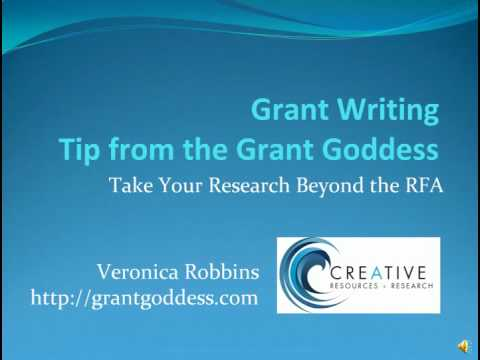 Tip from the Grant Goddess #1